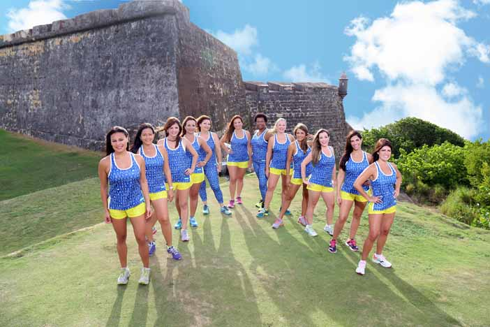 El club Run Like a Lola generalmente se reúne en San Juan.